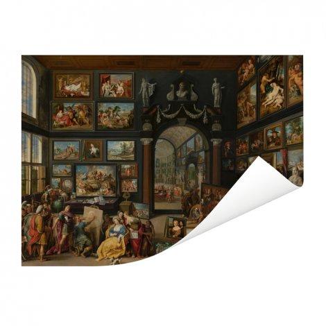Apelles schildert Campaspe - Schilderij van Willem van Haecht Poster