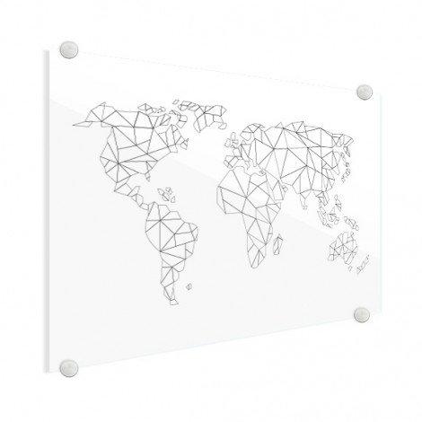 Geometrisch - lijn plexiglas