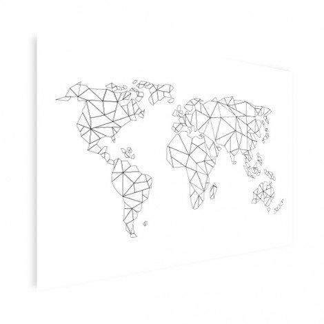 Geometrisch - lijn poster