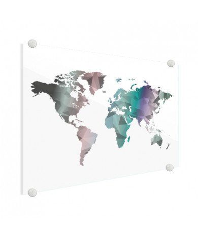 Geometrisch - kleur plexiglas