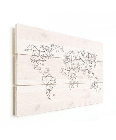 Geometrisch - lijn hout
