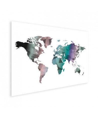 Geometrisch - kleur poster