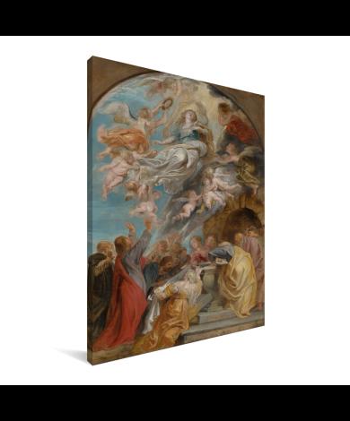 Modello voor de hemelvaart van Maria - Schilderij van Peter Paul Rubens Canvas