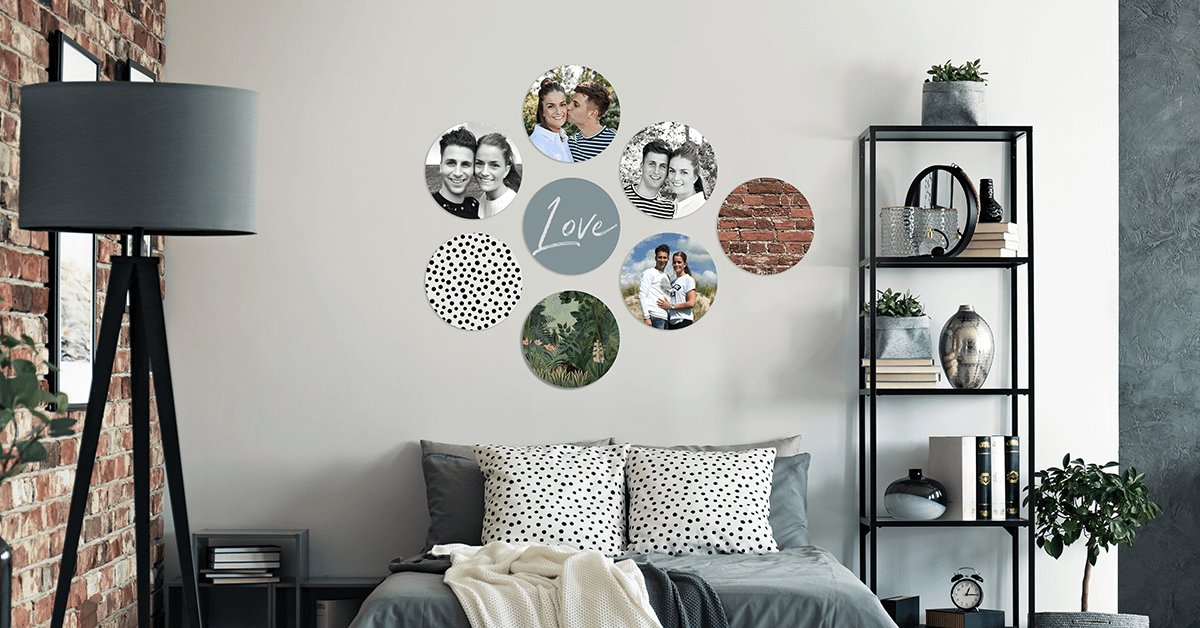 Foto op circles