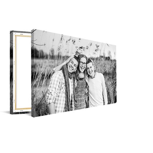 Wonderbaarlijk Zwart-wit foto op canvas | Bestel op TopDoek.nl KY-65