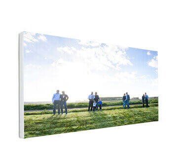 XL foto op canvas