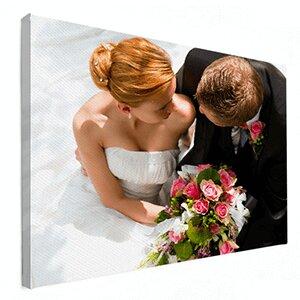 Fotoshoot trouwfoto op canvas